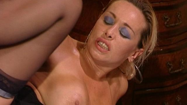 Busty Blonde Spouse In Stockings Getting Anally Smashed By Means Of A Large Jimmy