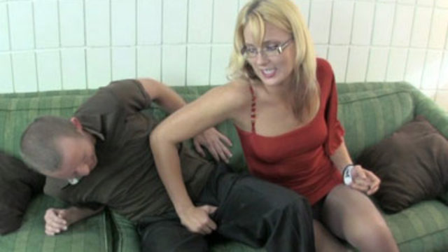 Jc Penalizes Her Stepbrother With Ball Torture