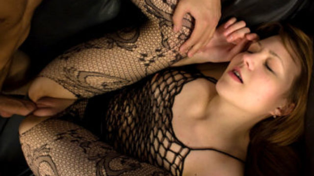 Ultra-kinky Teenager In Fishnet Ravaged
