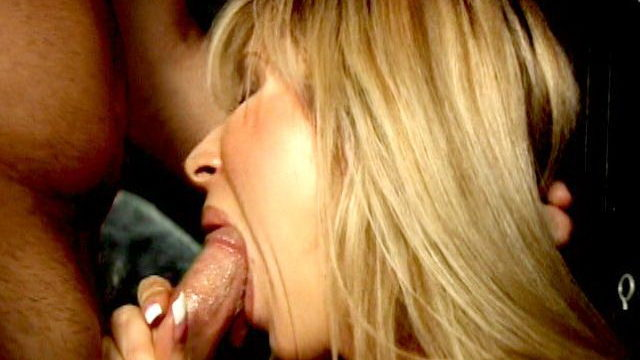 Naughty Blonde Charmer Morgan Ray Smoking With Lust And Sucking A Large Bell On A Pole