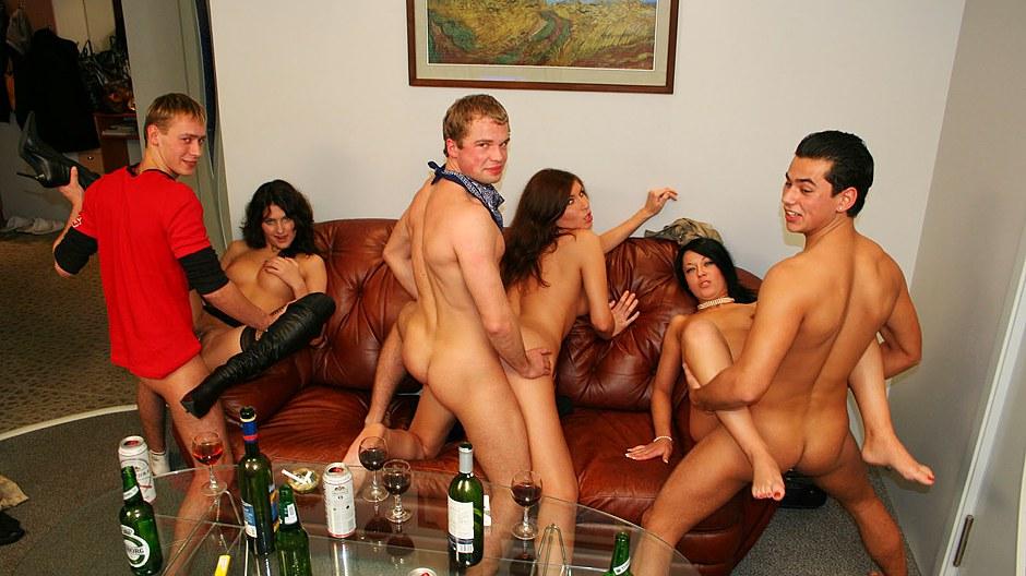 Секс Вечеринки Русских Студентов