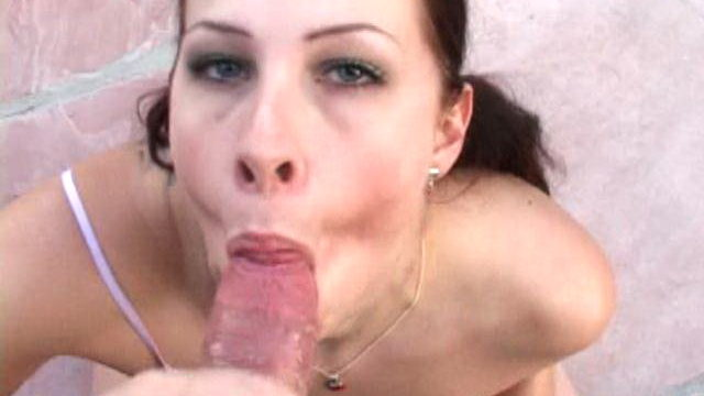 Pigtailed Newbie Whore With Large Pair Gianna Licking An Enormous Old Man In Pov Taste Outdoor