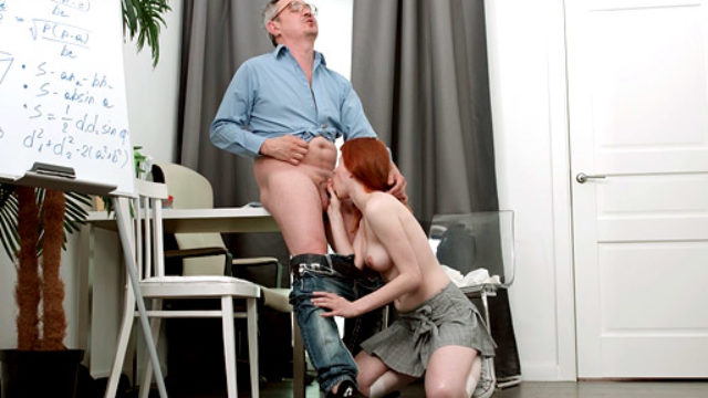 Teenager Cockslut Will Get Down And Muddy Along With Her Senior Professor