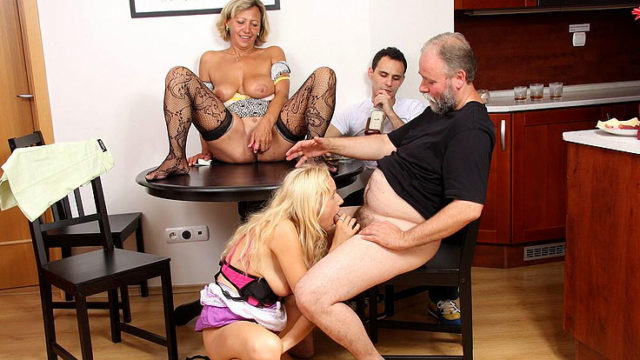 Whippersnapper Offers Her Bf's Father A Bj