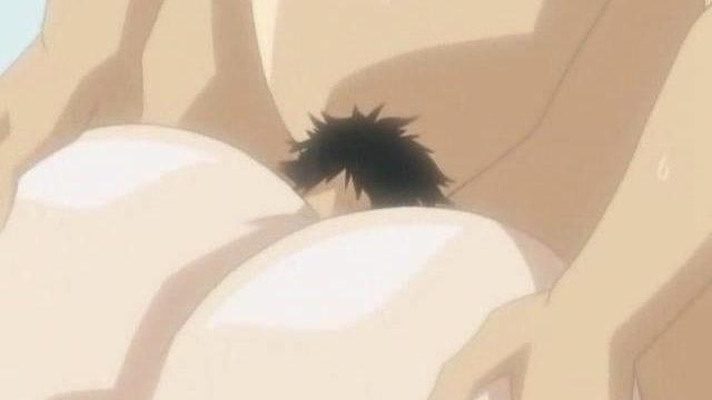 Huge-titted Anime Porn Gal Is Railing This Phat Anime Porn Manstick Till They Each Spunk