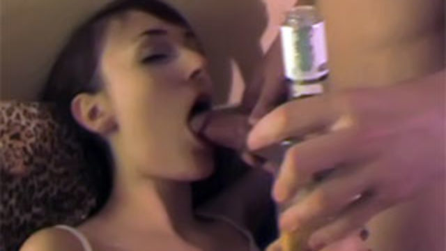 Boozed Honey Romping With 2 Studs