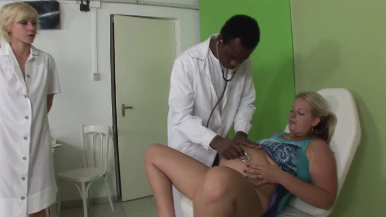 Preggie Super-bitch Seduced Via Physician