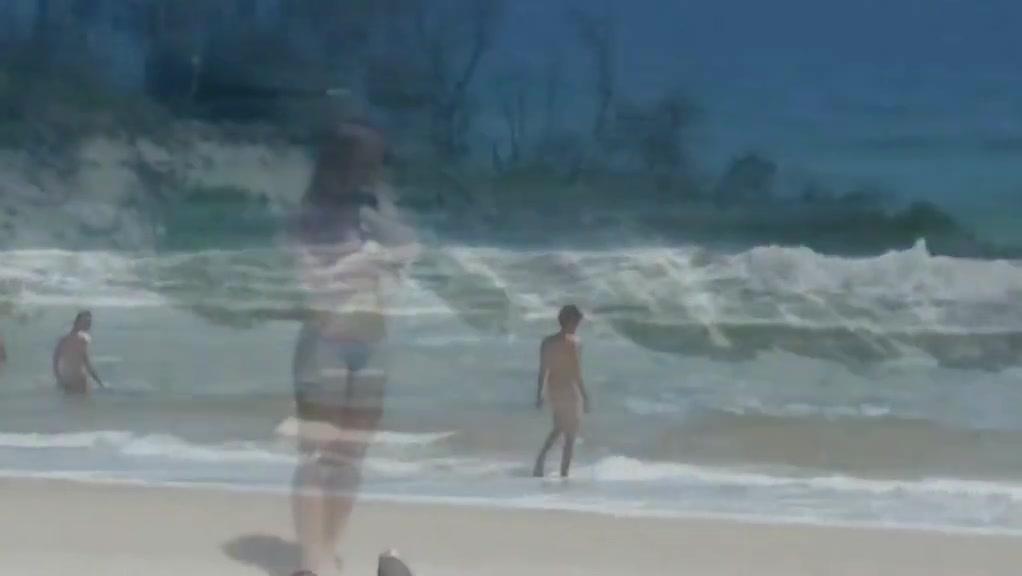 Aussie Damsel Naked Seashore Byron Bay