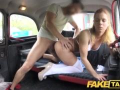 Faux Cab Nurse In Wonderful Undergarments Has Automotive Fuck-fest