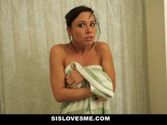 Sislovesme – Instructing My Nerdy Step Step-sister To Enjoy My Pecker