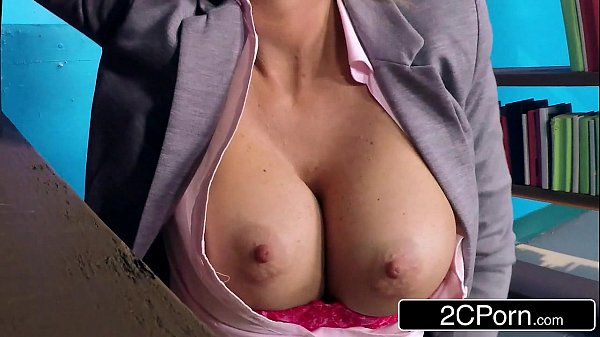 Bored Big-titted Librarian Courtney Taylor Hankering…