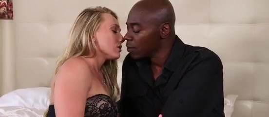 Jaw-dropping Platinum-blonde Takes Bbc
