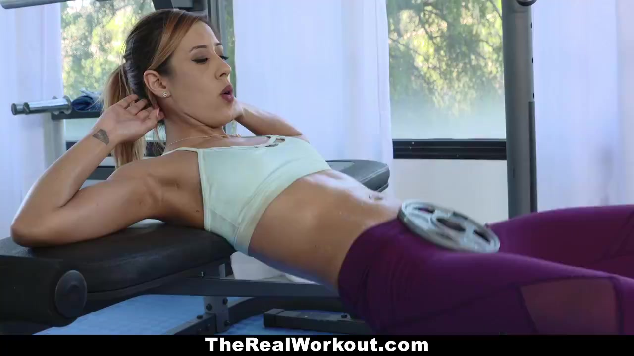 Therealworkout – Elastic Caboose Bombshell Pummeled All The Way Through Exercise