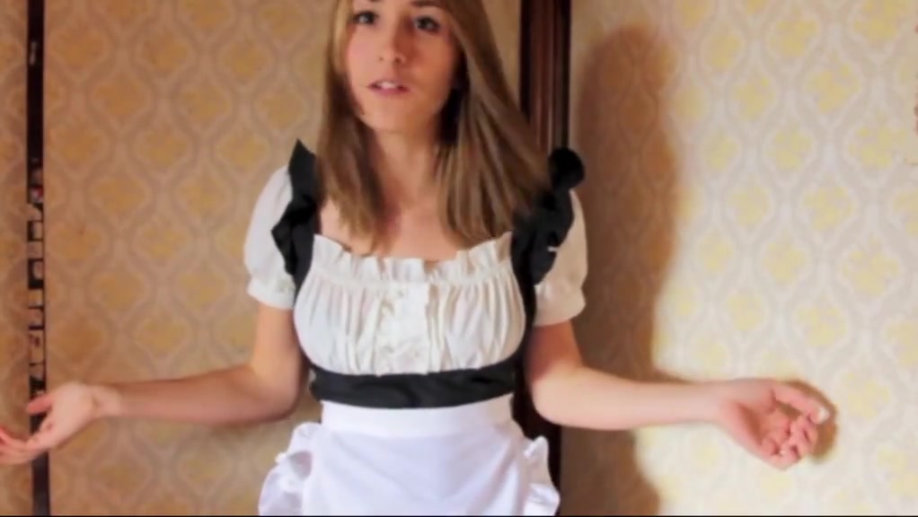 Maid Costume Play 003