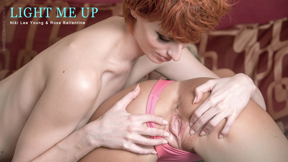 Rose Ballentine & Niki Lee Youthful In Gentle Me Up – Babesnetwork