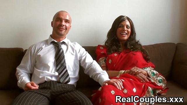 Desi Indian Is Screwed Stiff Via Spouse