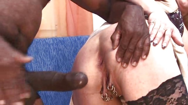 Pierced German Mother With Numerous Coochie Piercings Fuck-a-thon