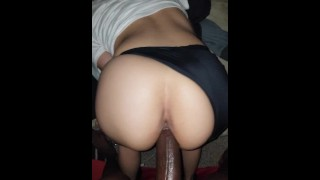 Naughty Latina Derriere't Prevent Nutting