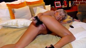 Flawless Bod Leximoon Is Pounding Herself Fairly Rock Hard