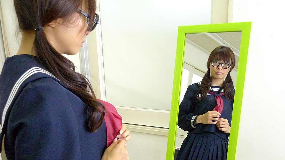 Azusa Misaki In Uniform Pulverized At College