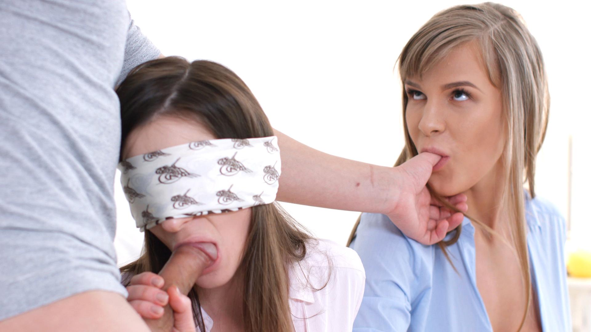 Sharing Beef Whistle With Girl/girl Girlfriend