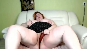 Bbw Hotty Makes The Faux-cock Vanish
